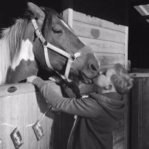 Rosie Abott and horse